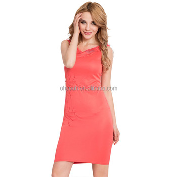 2016 Hot sale sexy bodycon dress for young ladies