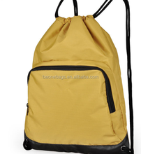 backpack Style High Quality Football Cinch Tote Plain Drawstring Nylon Bags