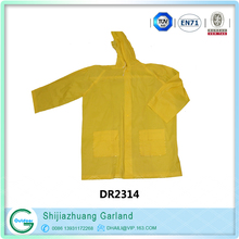 waterproof jackets Emergency PE adult disposable raincoat