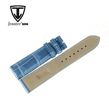 OEM Professional Designers Genuine Crocodile Leather Watch Band For Men Wholesale