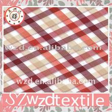 Cotton gingham poplin