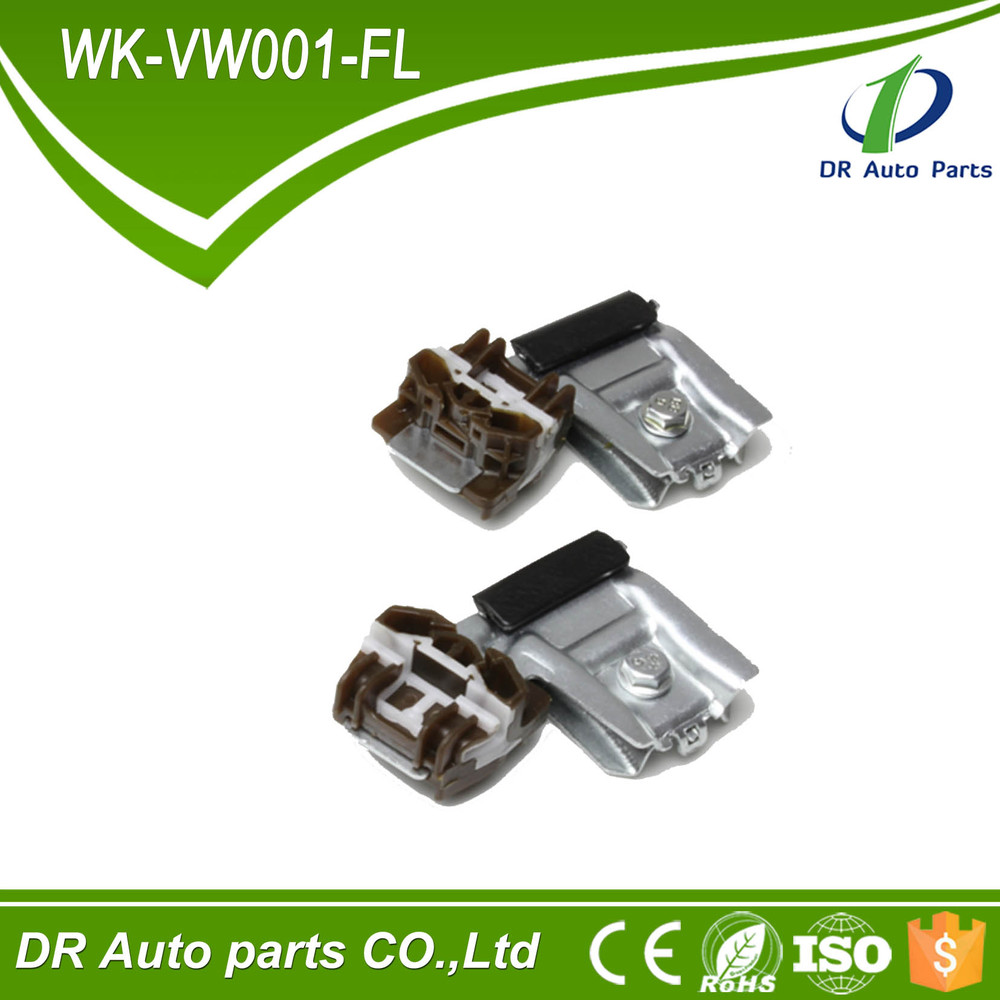 DR03 Professional Factory Window Regulator Clips / Plastic Slider For VW Golf 4 / Bora 1J4837461 1JM898461