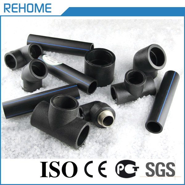We have all kind balck hdpe pipe fitting male adaptor