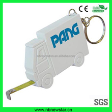 Logo printed Plastic truck shape 1M mini tape measure