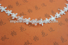 New arrival lace trim/braided laces for fabric/embroidery lace