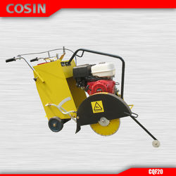 Gasoline Honda GX390 Engine Cosin CQF20 Asphalt Road Concrete Cutter