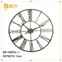 wholesale cheap price metal wall mounted clock