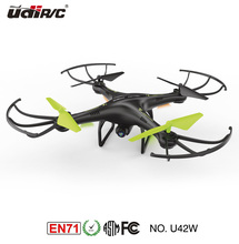 Petrel U42W Wifi FPV Drone 2.4Ghz RC Quadcopter with HD Camera, Flight Route Mode and Altitude Hold, One Key Take Off / Landing