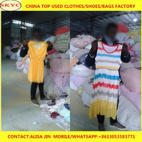 used clothing containes cheap second hand latest fashion dresses clothes