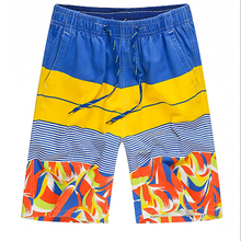 China wholesale custom 2018 european men beachwear shorts custom design your own fabric beachwear and swimwear