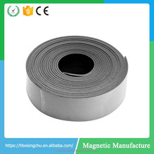 wholesale Large strong magnet strip flexible rubber magnet adhesive magnetic tape magnet