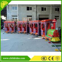 Manufacturer Outdoor Kids Riding Mini Electric Train For Sale