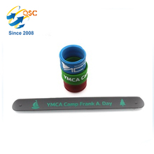 Promotional Customized Silicone Slap Band Bracelet