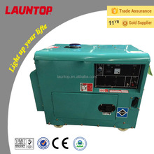 6.0kva Launtop silent diesel generator with 188F engine(474cc) with electric start