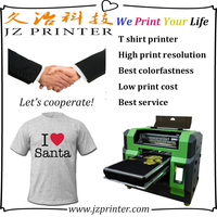 Best print effect t-shirt printing machine photo with low print cost