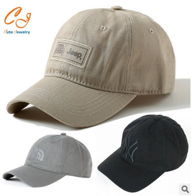2016 Men's Outdoor Summer Cap Embroidered <strong>Hats</strong> Cotton Foldable Sun <strong>Hat</strong>