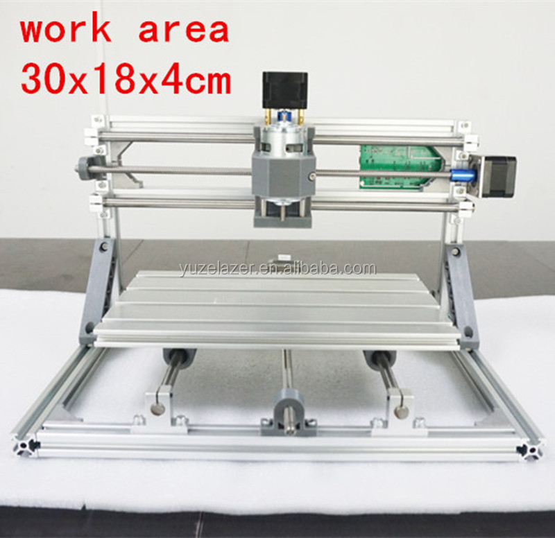CNC 3018 500mw/2500mw5500mw laser GRBL control Diy laser engraving ER11 CNC machine,3 Axis pcb Milling machine,Wood Router 30x18