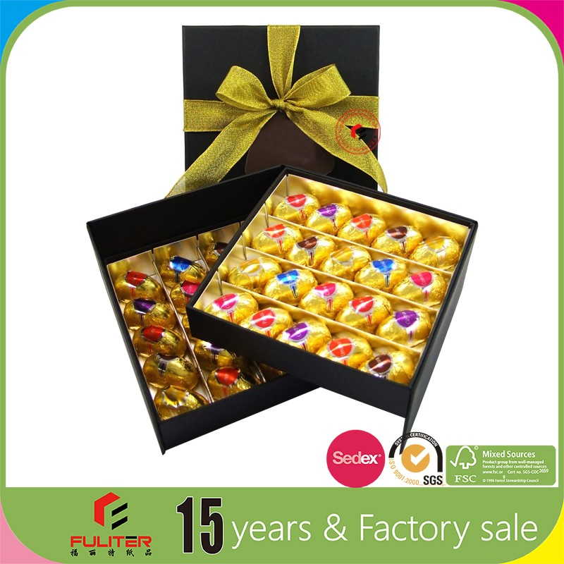 Products printed cardboard food box chocolate packaging paper