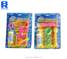 Newest Baby Toy Soap Bubble with Bubble Water 4 style asst