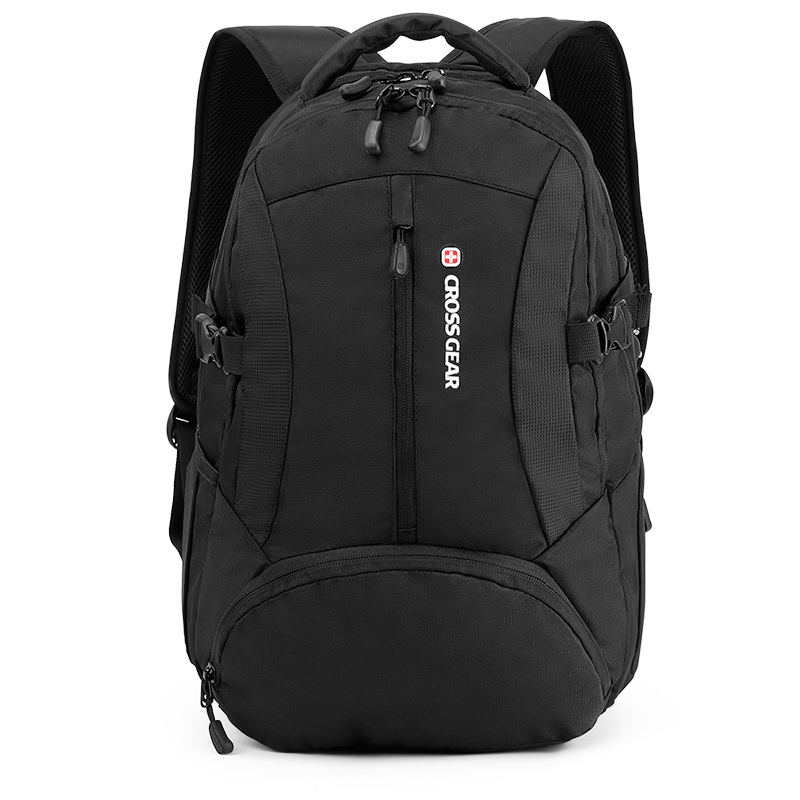 15.6 inch nylon Black color business travel laptop bags cheap price <strong>school</strong> and college backpack