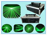 New 5w outdoor laser lighting green animation disco laser light stage laser light