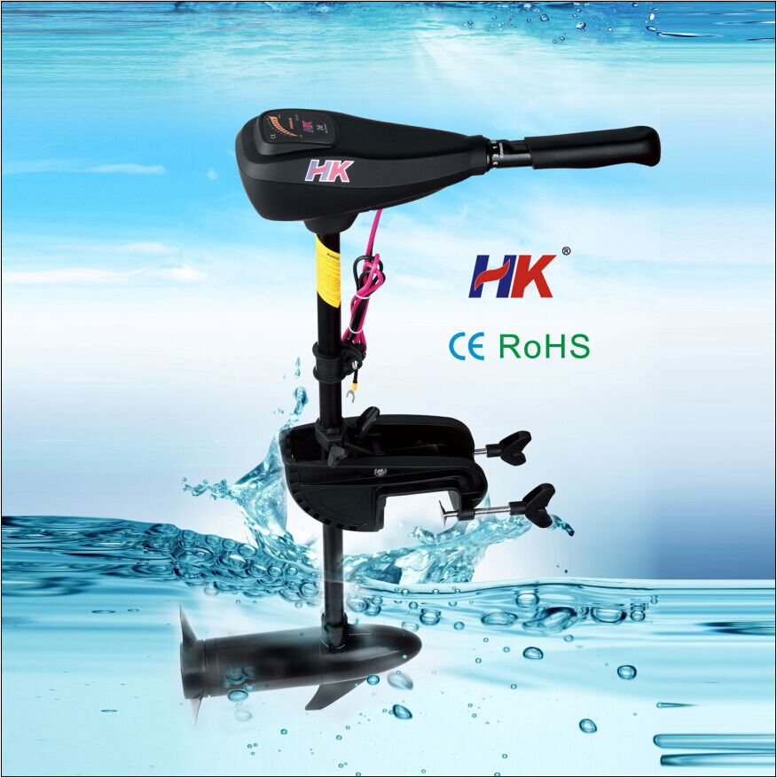 Noiseless electric outboard motor for sale