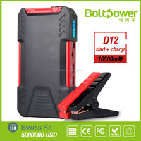 Big Capacity 18000mAh Emergency Car Battery Jump Start Power Bank 12v Charger Battery Auto Starter