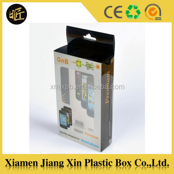 PVC Box Cellphone Case packaging box