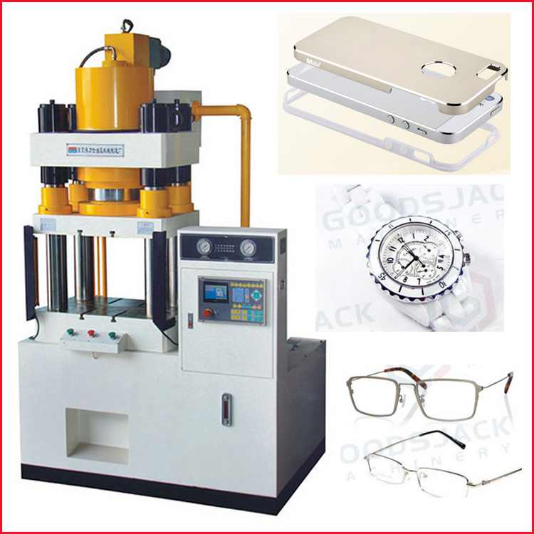 GSJ 10T Upper Cylinder CNC Hydraulic Phone Case Press Machine