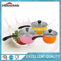 Hot selling flower cookware set with great price HS-CJS005