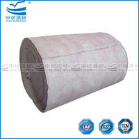 Ultrasonically sealed 3 layers bag filter material