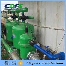 River water source quartz sand filter for irrigation with self cleaning filter