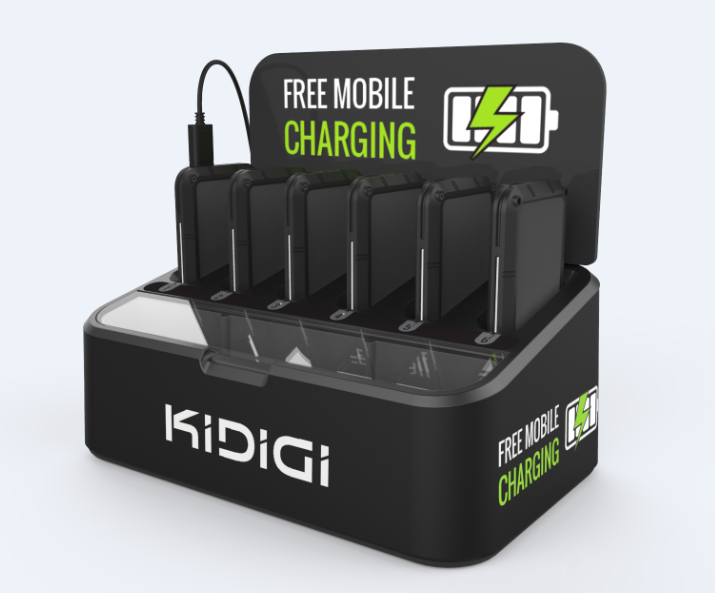 Universal charging station for iPhone 6 /6plus Tank power bank combo,kidigi PC-01-M,PC-01A-M