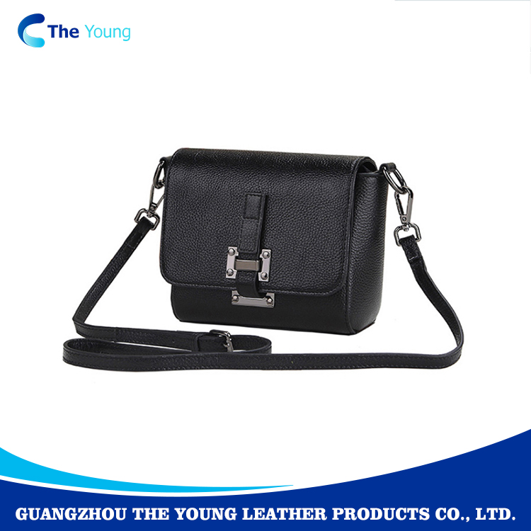 Cute sling cow leather cross body bag