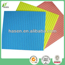 Easy use wash mesh sponge cloth use in kitchen 3 colors