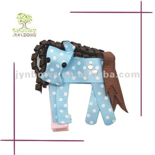 boutique elephant hair bows NB009 for kids