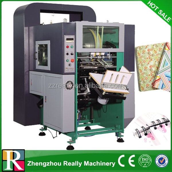 Fully automatic hydraulic paper perforating machine