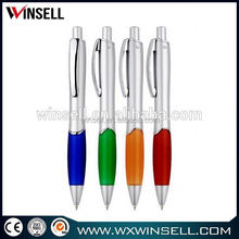 Newest stylish plastic ball pen with rope