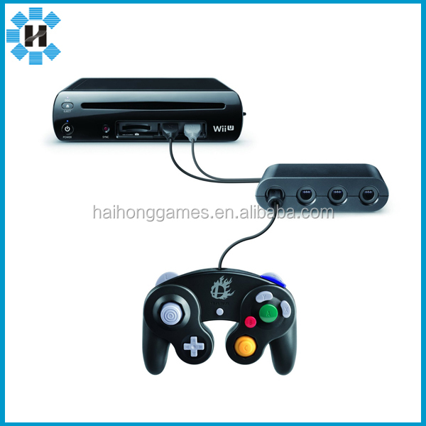 factory price Gamecube controller Adapter for Wiiu