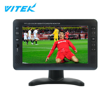 VTEX 9 10 inch OEM portable mini tv player analog tv,cheap mini flat screen tv,full seg isdbt portable tv 7 inches