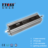 Constant voltage 60W 12V dimmable led driver with TUV certificate