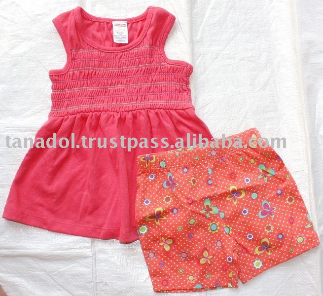 Girl's 2 Pcs Set Original Brand,children wear,children clothing