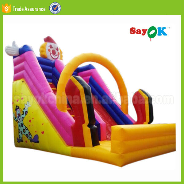 commercial giant adult jumping castles inflatable water slide for sale