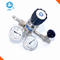 Air compressor high temperature industrial gas pressure regulator