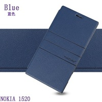 2014 new mobile phone case for NOKIA Lumia 1520 leather cover, for NOKIA Lumia Phablet smartphone cover, filp case
