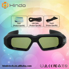 high performance Ultra-Clear DLP LINK Wireless 3D Glasses for viewsonic PJD5123 QUMI Q5 projector