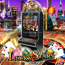 Lucky Star TSK taiwan arcade mario slot poker game machine