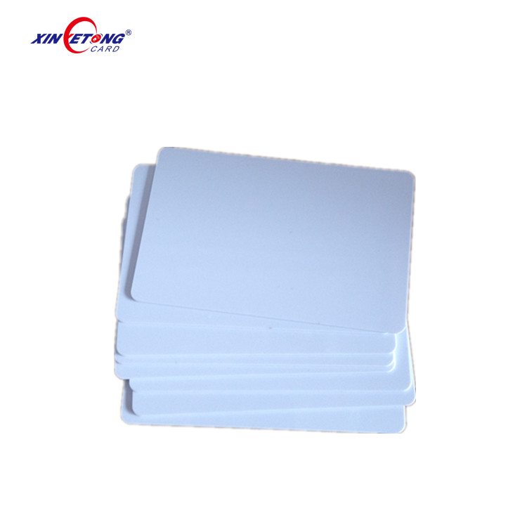 cheap plastic rfid 1k S50 smart card,FM11RF08 chip smart card for printing