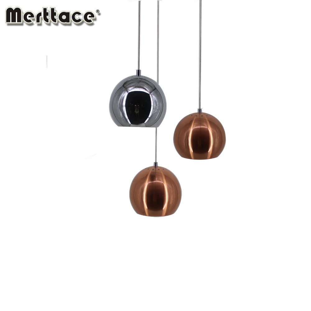 Vintage decorate a ball aluminum modern drop light and lighting lamp