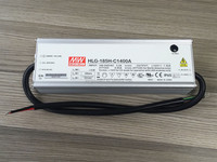 200W Meanwell LED Power Supply, 1400mA, HLG-185H-C1400, HLG-185H-C1400A, HLG-185H-C1400B